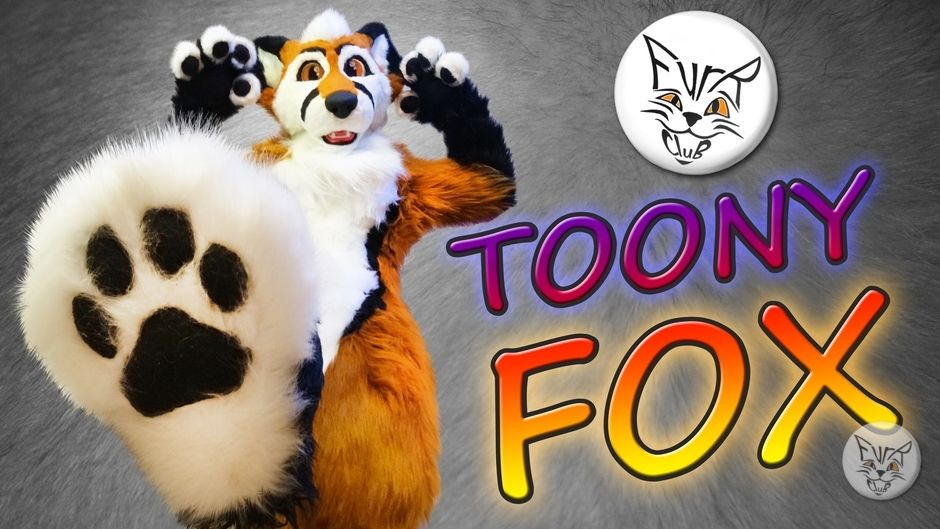 Fursuit for toony Fox