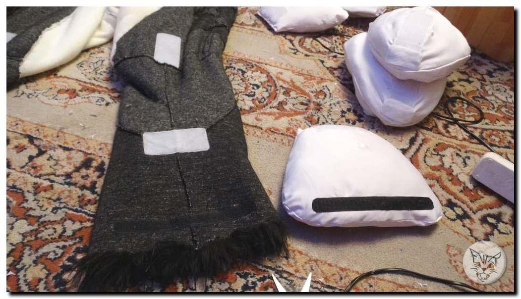 Commissioning a fursuit. Silvery Corgi fursuit
