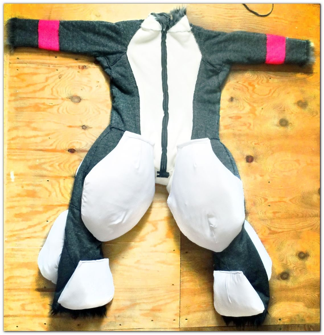 #Linings for exoskeleton of fursuit #furr.club #fursuit Fox Lux