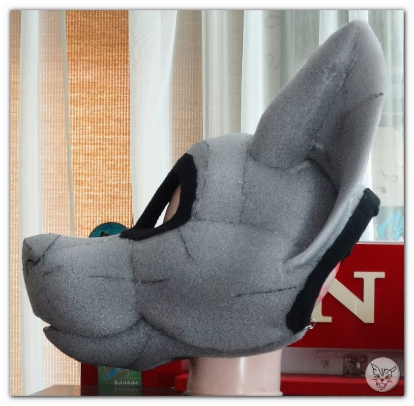 #FurRCluB #nIce Dog #Manufacture #Headblank