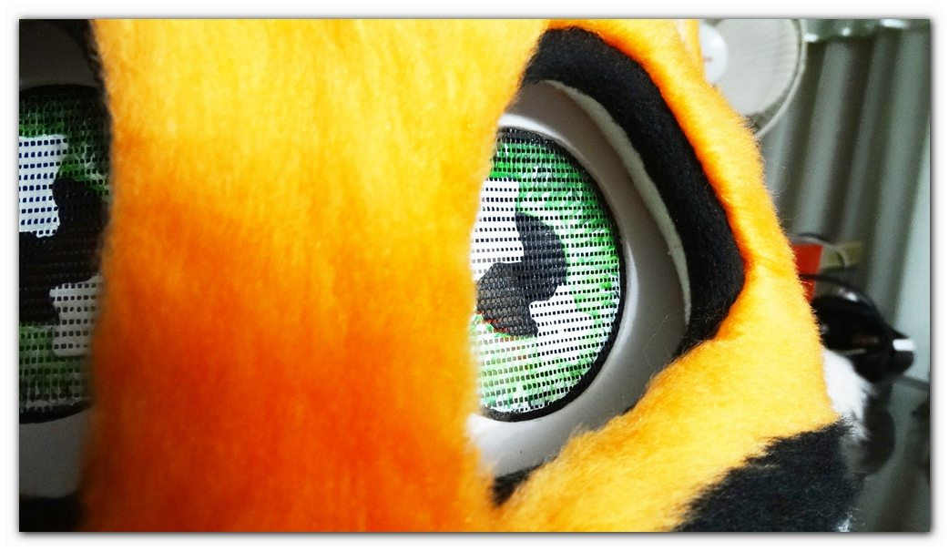 Eyes of fursuit