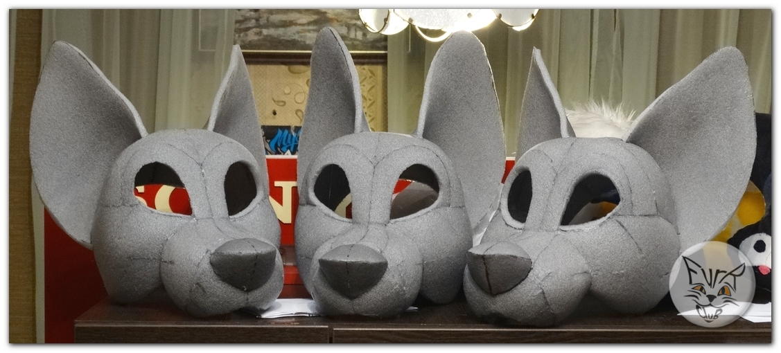 #FurRCluB #Dog_Fursuit #Manufacture #Headblank