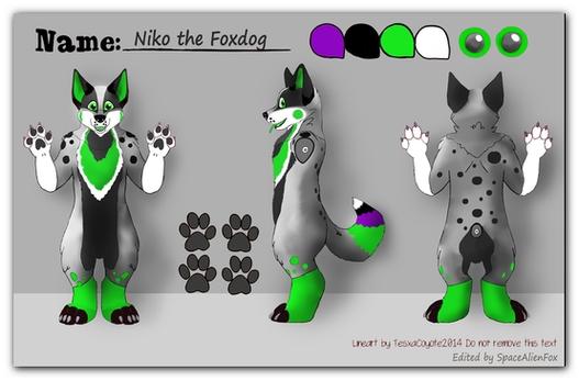 Grayish_Green_Dog Fursuit