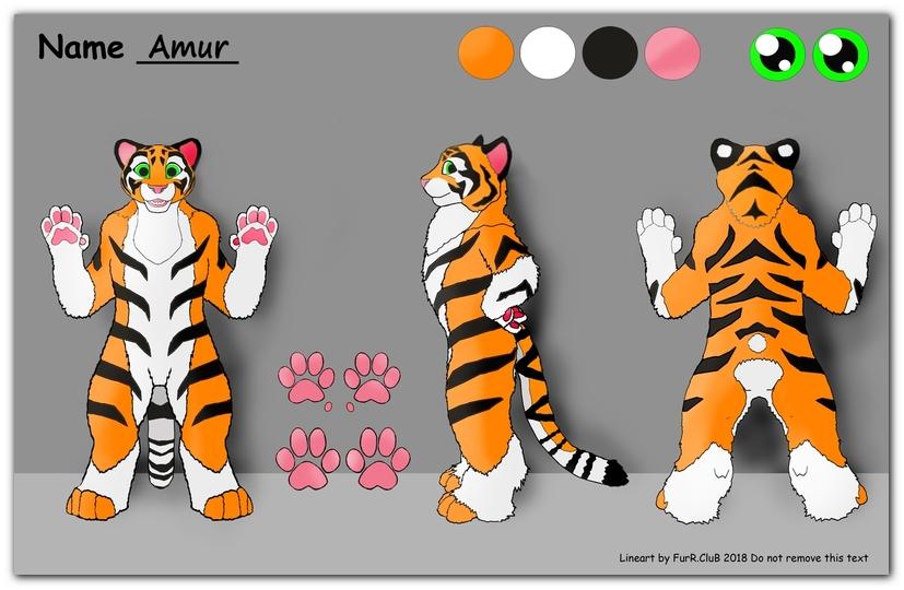 #FurRCluB #Amur #Manufacture #Reference #Amur_tiger