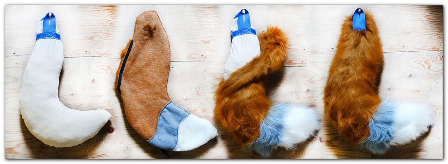 Tail for fursuit #foxfursuit #furr_club #fursuit #Tail