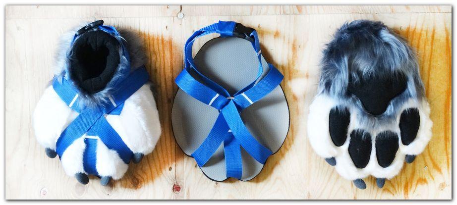 Paws design #foxfursuit #furr_club #fursuit #Paws