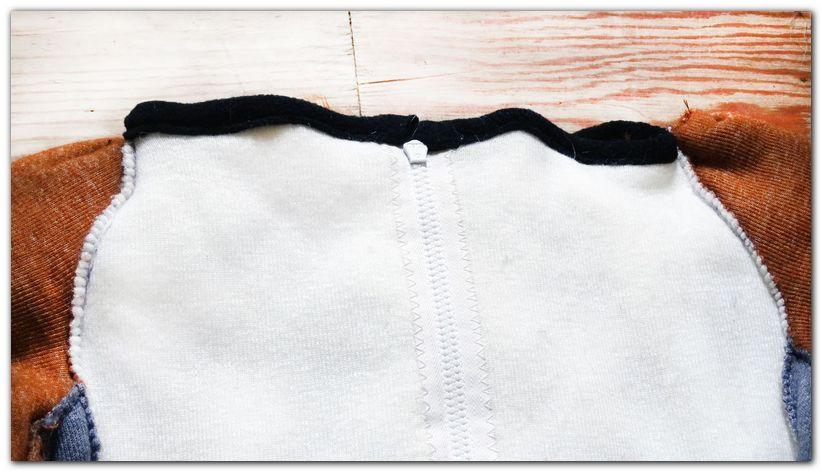 Stitches and collar of fursuit #foxfursuit #furr_club #fursuit