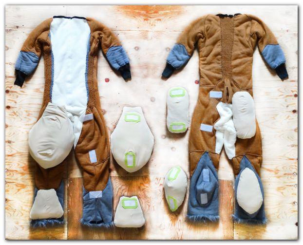 Overalls for Fox fursuit project #foxfursuit #furr_club #fursuit