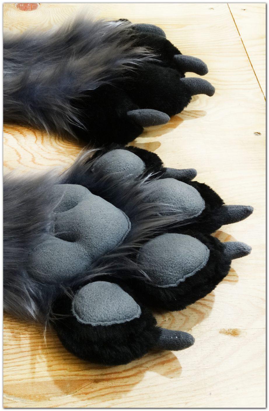 Paws design #Woflie Fox fursuit #furr_club #fursuit #Paws