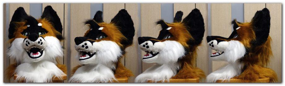 Head for Woflie Fox fursuit project #foxfursuit #furr_club #fursuit