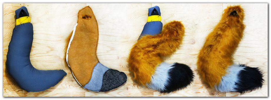 Tail for Woflie Fox fursuit #foxfursuit #furr_club #fursuit #Tail