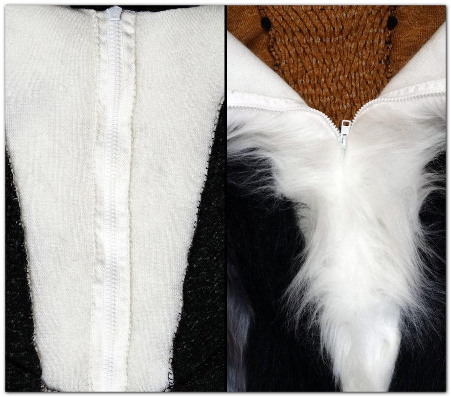 Zip of Woflie Fox fursuit project #foxfursuit #furr_club #fursuit