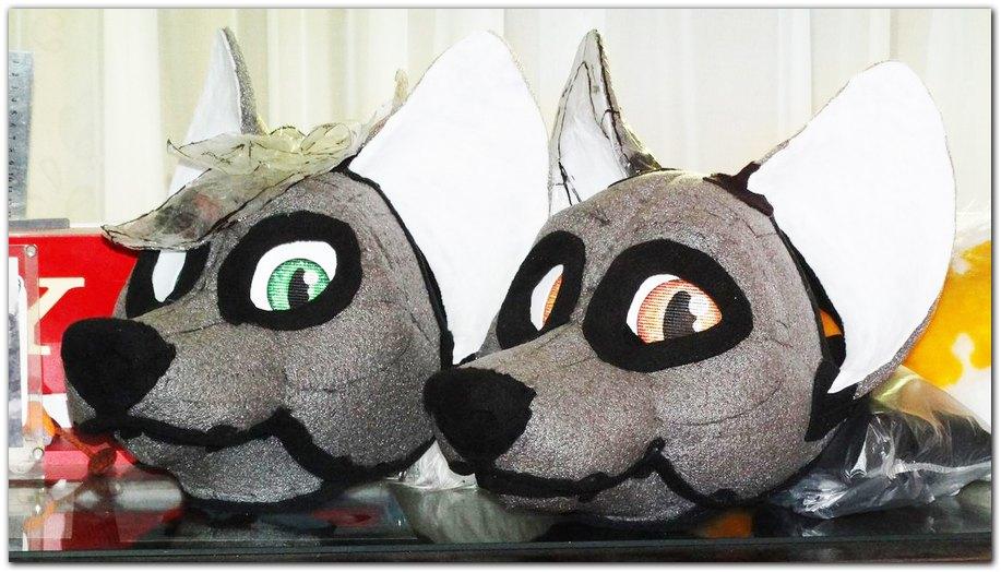 Fursuit's head #Kacec #Fox #furr_club #fursuit #furrclub #foxfursuit