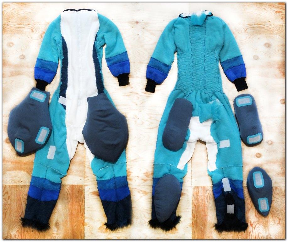 Overalls for Fox fursuit project #Kacec #foxfursuit #furr_club #fursuit #furrclub