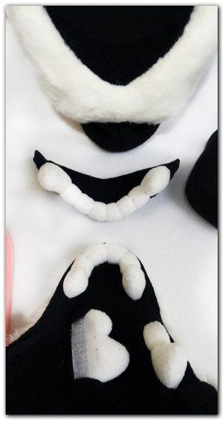 Teeth of fursuit's mask #Tzyko #foxfursuit #furr_club #fursuit #furrclubk