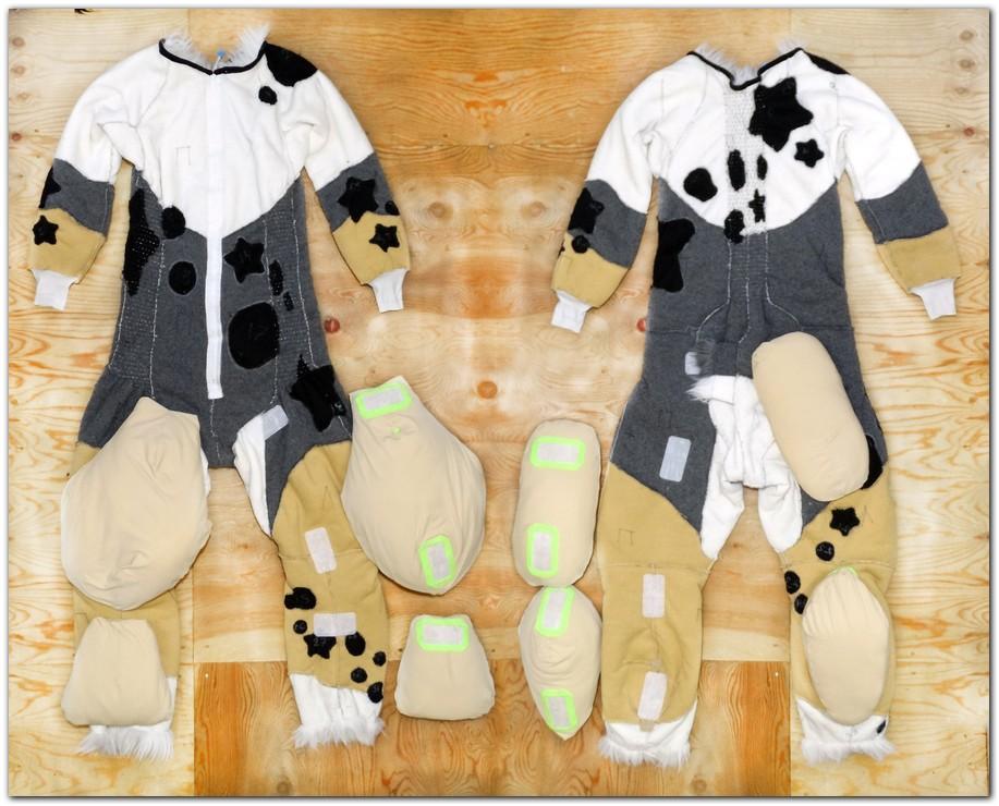 Overalls for Australian Shepherd fursuit project #dogfursuit #furr_club #fursuit