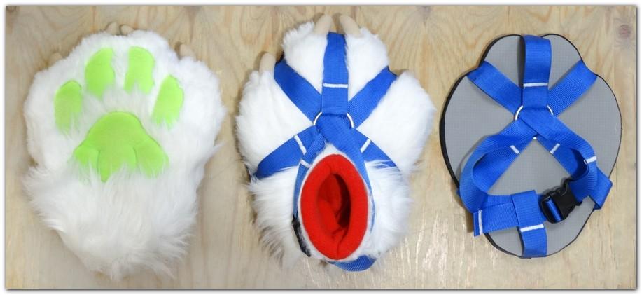 Paws design #Australian Shepherd fursuit #furr_club #fursuit #Paws