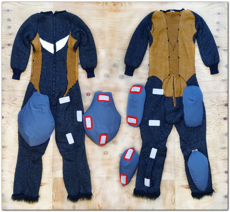 Overalls for Red Panda fursuit project #pandafursuit #furr_club #fursuit