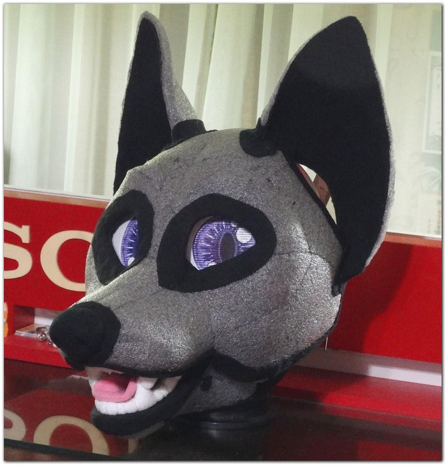 Headbase for Classic Fox fursuit project #Foxfursuit #furr_club #fursuit