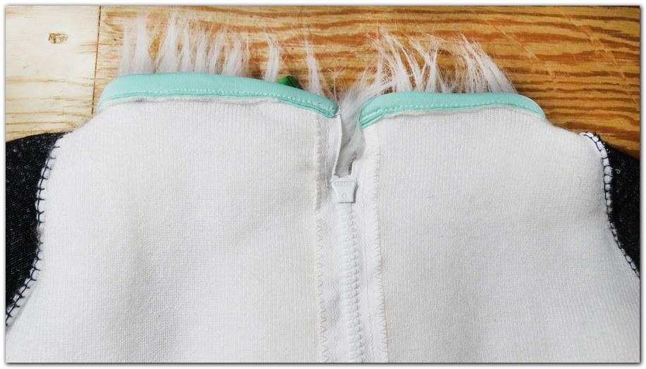 Zip of Classic Fox fursuit project #Foxfursuit #furr_club #fursuit