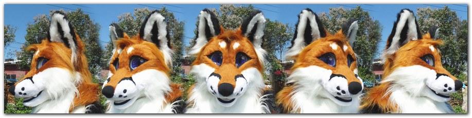 Head for Classic Fox fursuit project #Foxfursuit #furr_club #fursuit