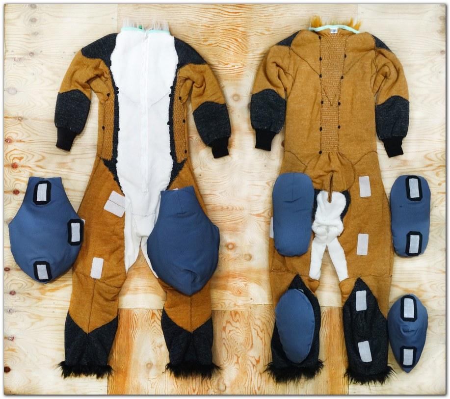 Overalls for Classic Fox fursuit project #Foxfursuit #furr_club #fursuit