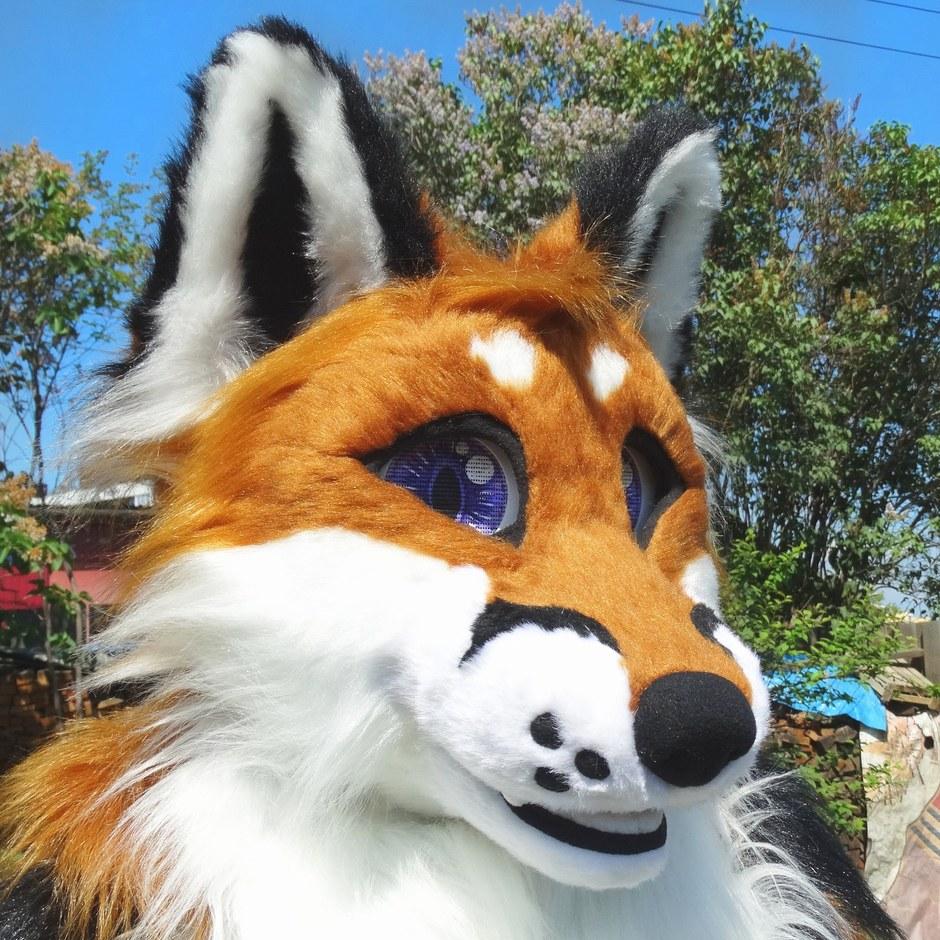 #Classic_Fox_fursuit #furr_club #fursuit #Classic Fox