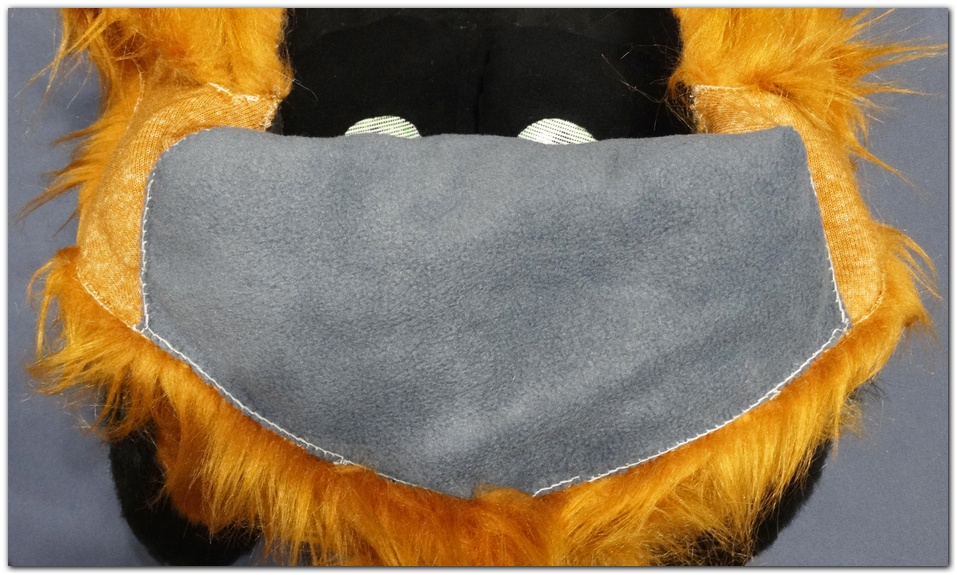 Back apone of fursuit project Classic Fox v2 #Foxfursuit #furr_club #fursuit