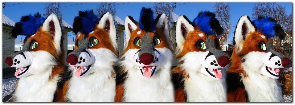 Head for fursuit project Classic Fox v2 #Foxfursuit #furr_club #fursuit