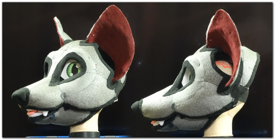 Headbase for fursuit project Classic Fox v2 #Foxfursuit #furr_club #fursuit