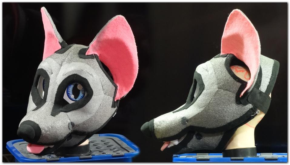 Headbase for fursuit project Pinkpaws Fox #Foxfursuit #furr_club #fursuit