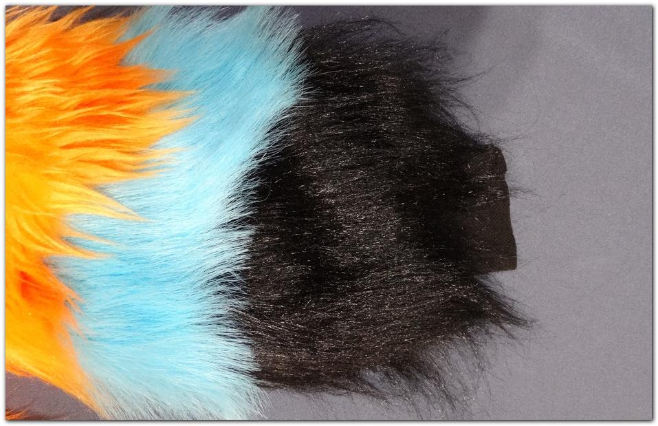 Pinkpaws Fox jumpsuit cuff sleeve_inside #Foxfursuit #furr_club #fursuit