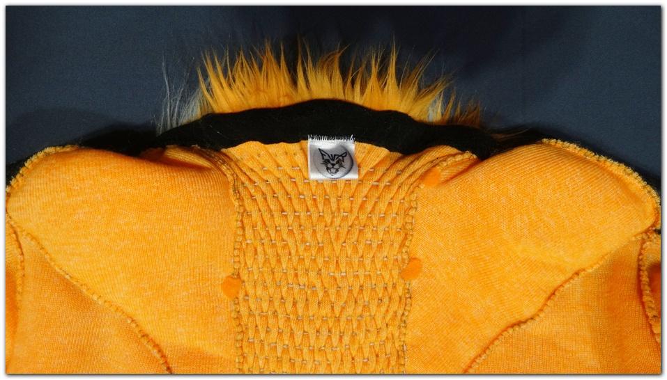 The collar of Pinkpaws Fox fursuit project #Foxfursuit #furr_club #fursuit