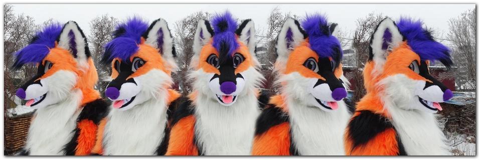 Head for fursuit project Moey Fox #Foxfursuit #furr_club #fursuit
