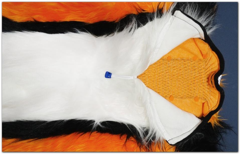 Zip of Moey Fox fursuit project #Foxfursuit #furr_club #fursuit