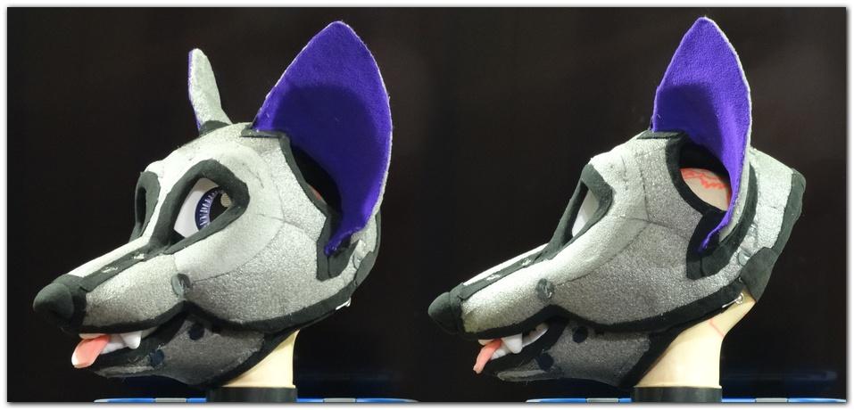 Headbase for fursuit project Moey Fox #Foxfursuit #furr_club #fursuit