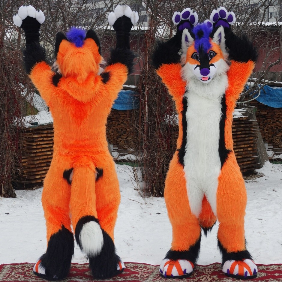 #Moey_Fox_fursuit #furr_club #fursuit #Fox fursuit