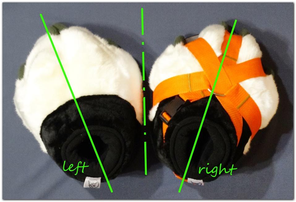 Feetpaws left_right #Violet_Paws_Fox fursuit #furr_club #fursuit #Paws