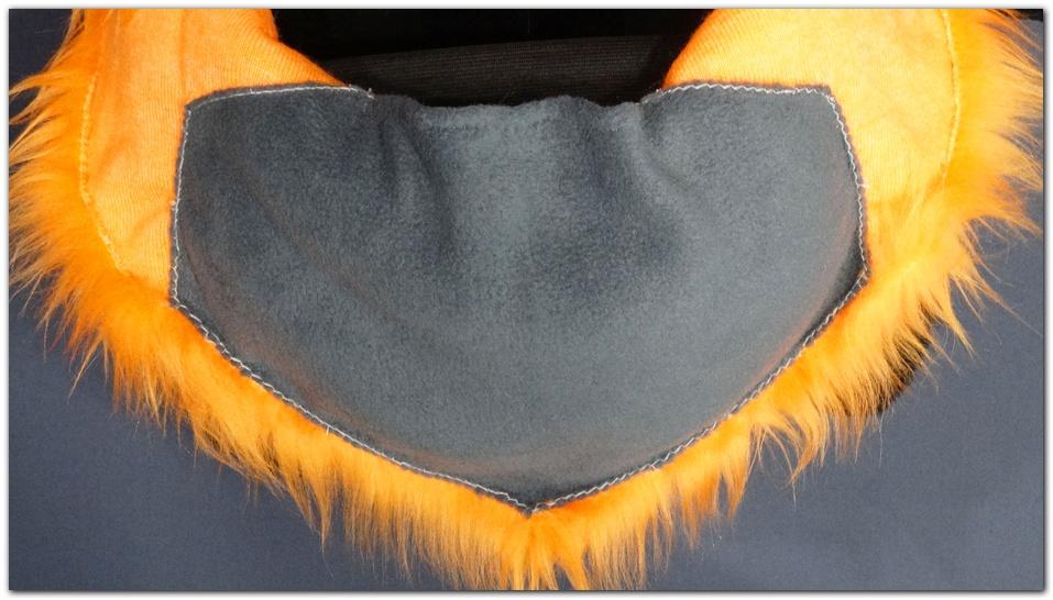 Back apone of fursuit project Violetpaws Fox #Foxfursuit #furr_club #fursuit