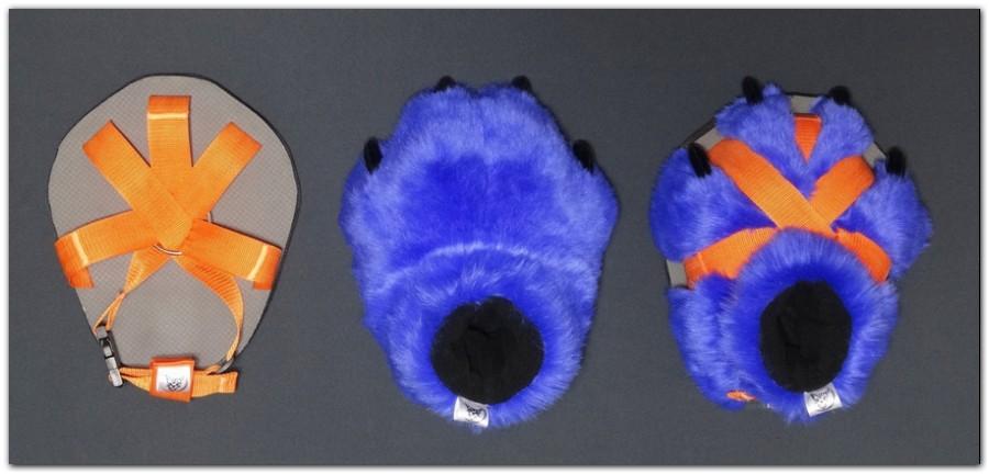 Paws design #Hyena fursuit #furr_club #fursuit #Paws