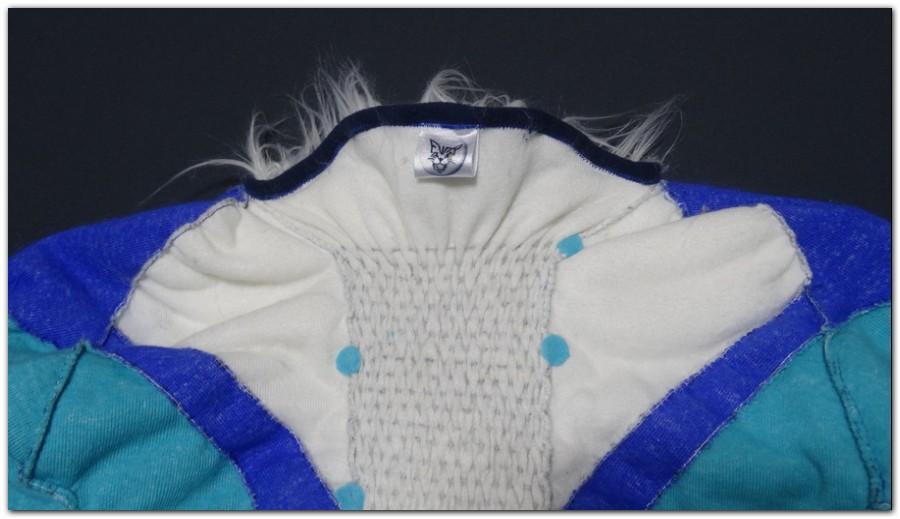 The collar of Hyena fursuit project #Hyenajumpsuit #furr_club #fursuit