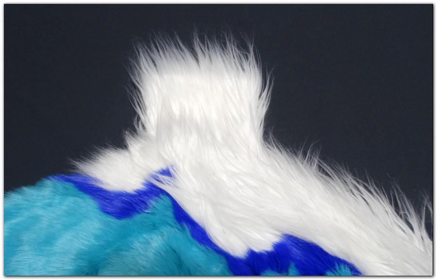 Tail sleeve of fursuit Hyena #Hyenajumpsuit #furr_club #fursuit #Tail