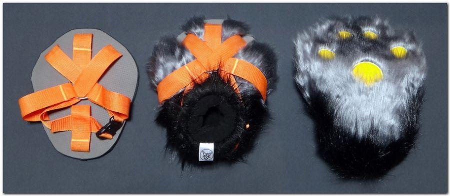 Paws design #KDub-The-Hare fursuit #furr_club #fursuit #Paws