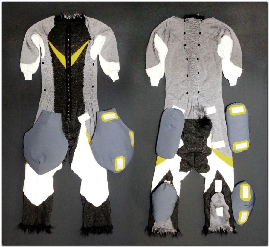 Overalls for Hare fursuit project #Hare-KDub-Harefursuit #furr_club #fursuit
