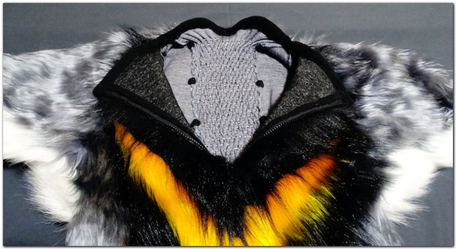 Zip of Hare fursuit project #Hare-KDub-Harefursuit #furr_club #fursuit