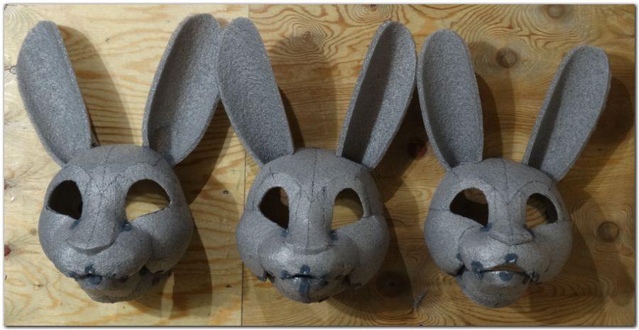 Headbase for fursuit project Hare #Hare-KDub-Harefursuit #furr_club #fursuit