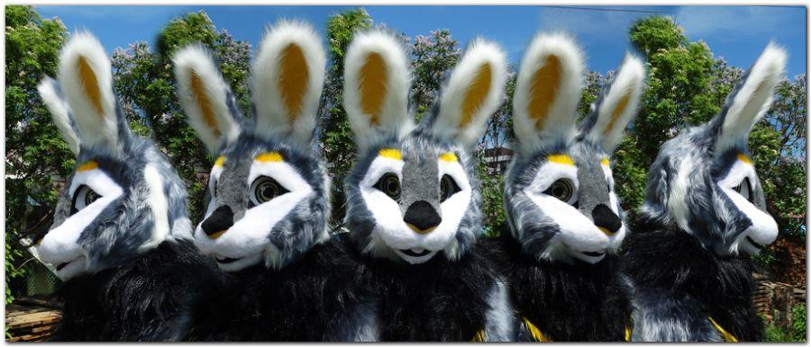 Head for fursuit project Hare #Hare-KDub-Harefursuit #furr_club #fursuit