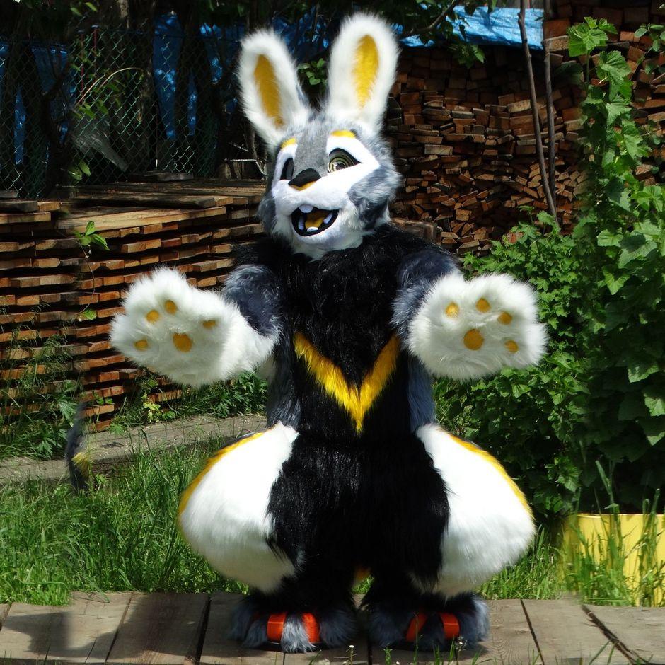 Hare fursuit