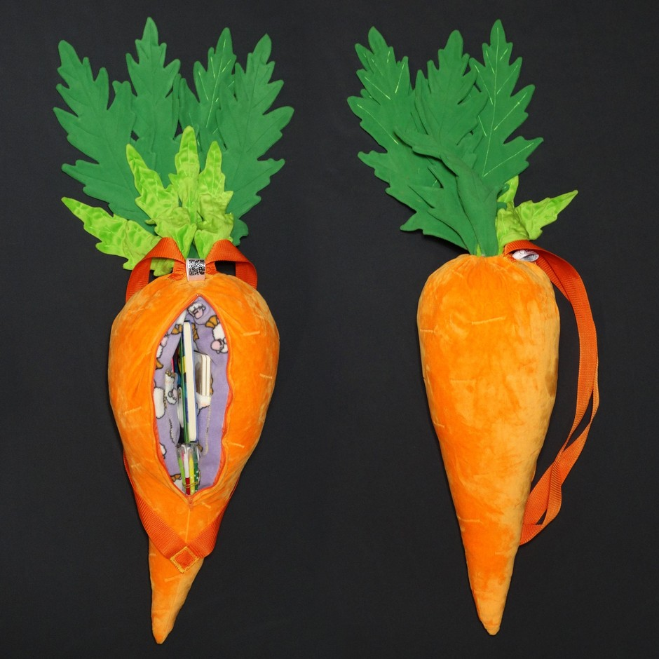 #furr_club #fursuit #KDub-The-Hare #carrot/backpack