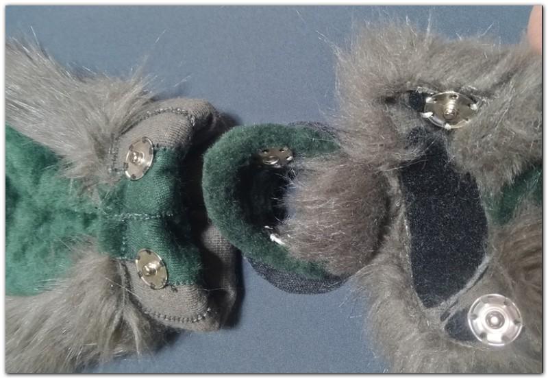 Removable ears with Velcro #Thumper-The-Hare-fursuit #furr_club #fursuit